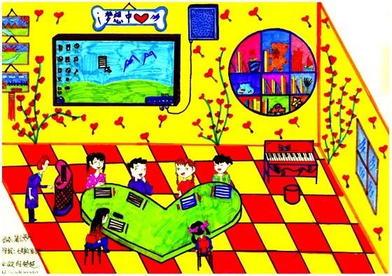 """2012年3月 """"我心中的梦想中心""""主题绘画"""